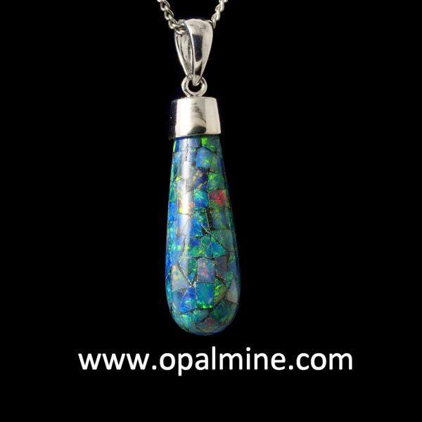 opal pendant 4085