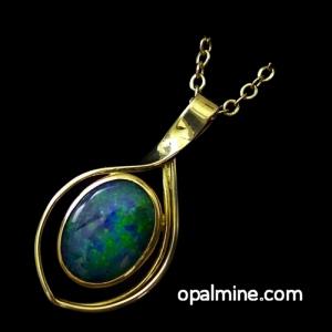 Opal Pendant 4016