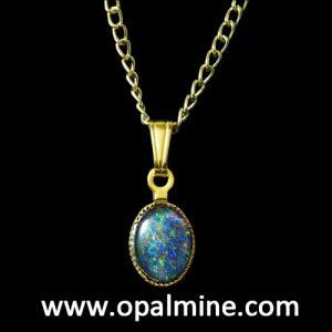 opal pendant 4287a-original price $30