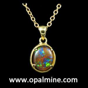 opal pendant 4244