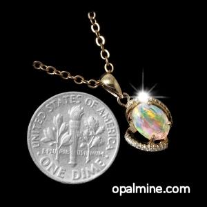 opal pendant 4311
