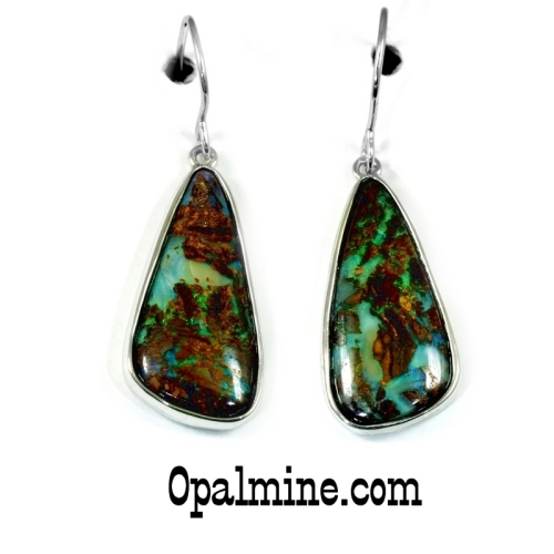 Opal Earrings 6096