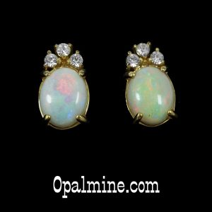 Opal Earrings 6034