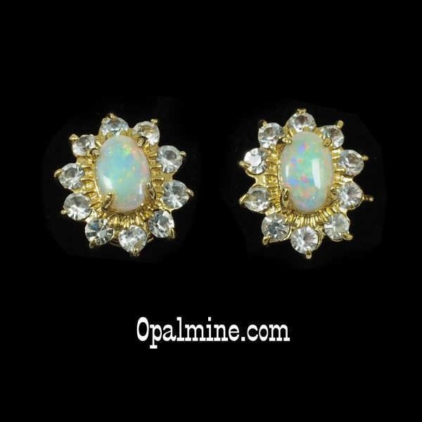 Opal Earrings 6066-original price $175