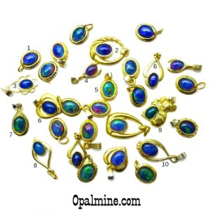 Opal Pendant 4287
