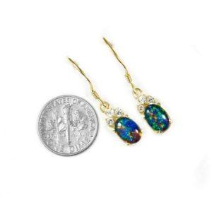 Opal Earrings 9020