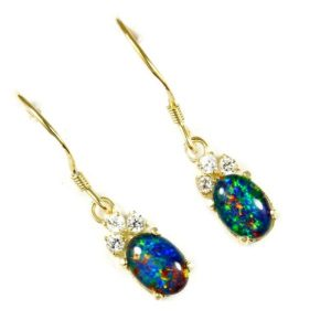 Opal Earrings 9020
