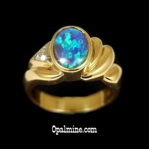 Opal Ring 5417