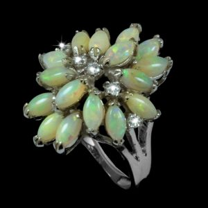 opal Ring 9077r