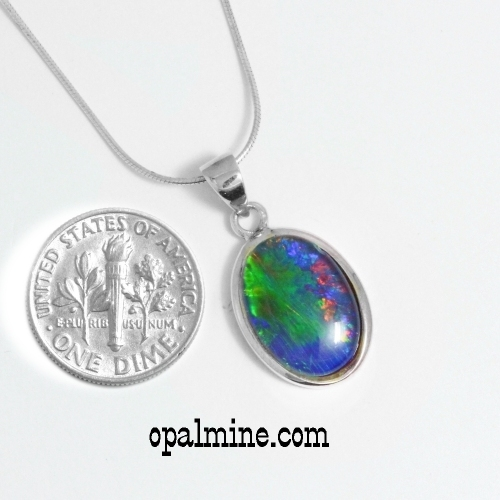 opal pendant 4050