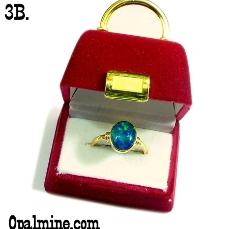 Opal jewelry gift box selection opalmine from australia for Red velvet jewelry gift boxes