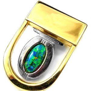 Opal Belt Buckle