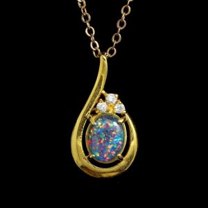 Products archive opal jewellery online pendants rings opal pendant 4076 aloadofball Image collections