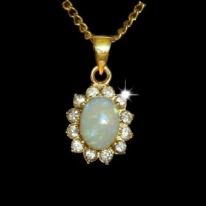 Opal Pendants Crystal