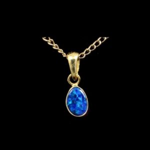 Online opal jewelry accesories and unique gifts opalmine opal pendants doublet aloadofball Gallery