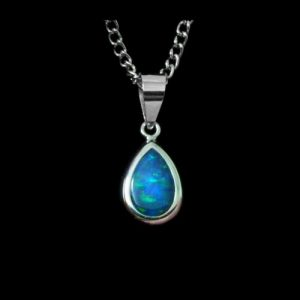 Opal Pendants Inlay