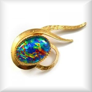 Opal Brooches