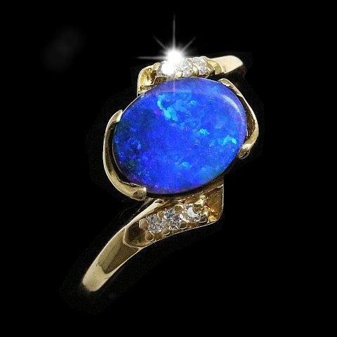 opal ring boulder