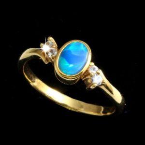 Opal Rings Doublet