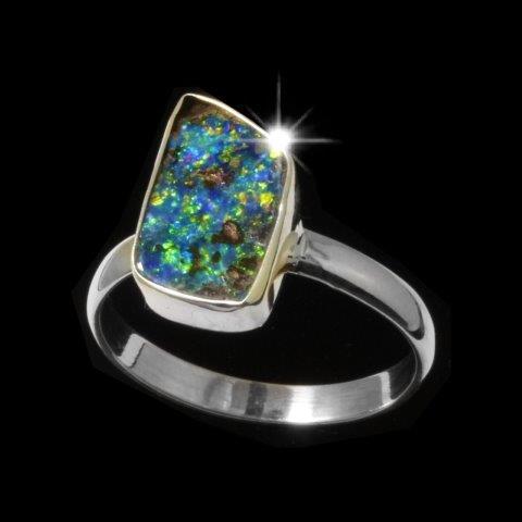5420 boulder opal ring-5