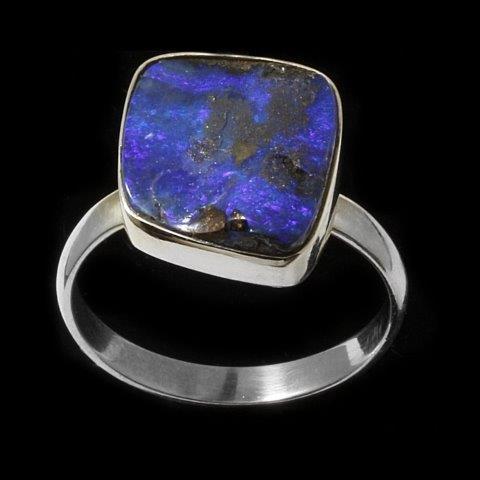 5434 boulder opal ring-2