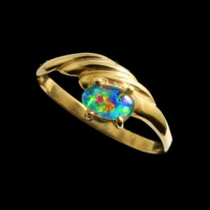Opal Rings Triplet