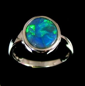 Black Opal Mens Jewelry