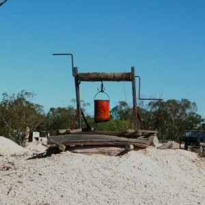 Opal Windlass at Lightning Ridge opal fields