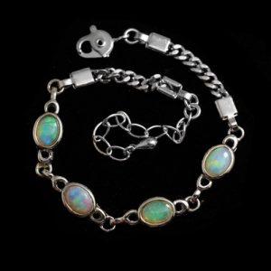 opal bracelet, opal jewelry
