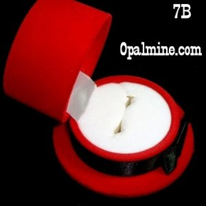 opal ring gift boxes-top hat shaped ring box