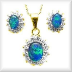 Opal jewellery online opal sets mozeypictures Image collections