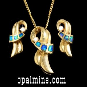 Inlay Opal Set