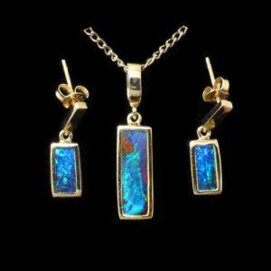 9053-opal-pendant-earring-set-boulder-opal