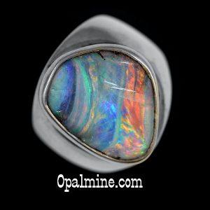 Opal Ring Boulder- 5543-3