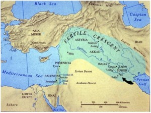 jewelers and gold jewelry jewellery - location of ancient Ur in modern day Iraq