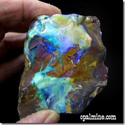 rough opal boulder, boulder opal rough