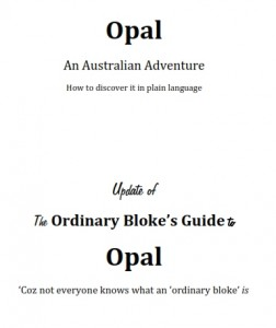 Opal eBook An Australian Adventure