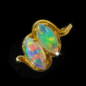 unique-opal-rings-for-sale- crystal opals from lightning ridge