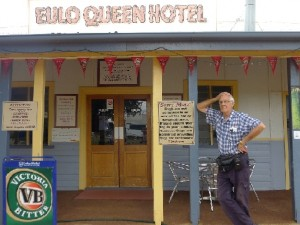 Yowah Nut Opal-The opal queen hotel in Eulo Queensland, australia