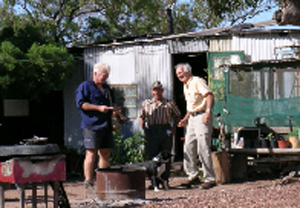 opal miners huts
