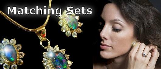 matching opal jewelry